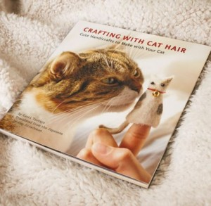 Crafting with Cat Hair book by Firebox