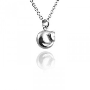 Tiny Cat Necklace by Not On The High Street