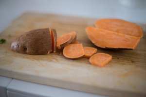 Cooked sweet potato can be fed to your pets as a treat